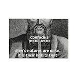 Eastern Wisdom: Confucius Rectangle Magnet