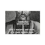 Eastern Wisdom: Confucius Rectangle Magnet (100 pa