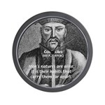 Eastern Wisdom: Confucius Wall Clock