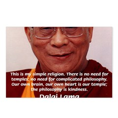 His Holiness the Dalai Lama Postcards (Package of