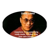 The Dalai Lama Oval Decal