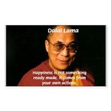 The Dalai Lama Rectangle Decal