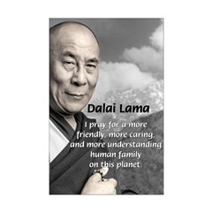 The 14th Dalai Lama Mini Poster Print