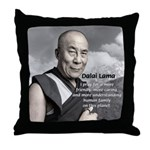 The 14th Dalai Lama Throw Pillow