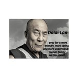 The 14th Dalai Lama Rectangle Magnet (100 pack)