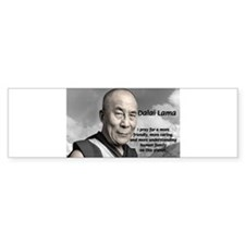The 14th Dalai Lama Bumper Bumper Sticker