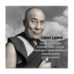 The 14th Dalai Lama Tile Coaster