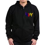 Obey The Zip Hoodie (dark)