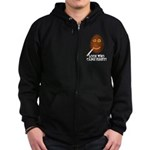 Come First with this Zip Hoodie (dark)