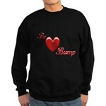 The Love Bump Sweatshirt (dark)
