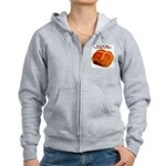 The Big Bun in the Oven Women's Zip Hoodie