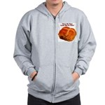 The Big Bun in the Oven Zip Hoodie