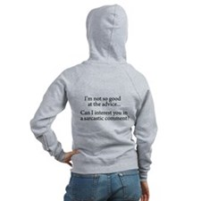 not so good at the advice Women's Zip Hoodie