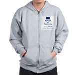 Stuff The EU with this Zip Hoodie