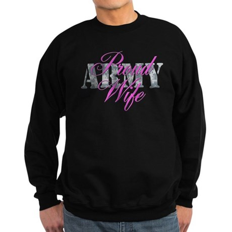 Proud Army Wife ACU Sweatshirt (dark)