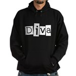 Abstract Diva Hoodie (dark)