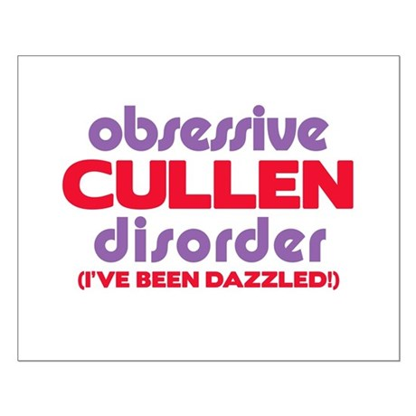 Obsessive Cullen Disorder Small Poster