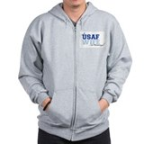 USAF wife in training Zip Hoodie