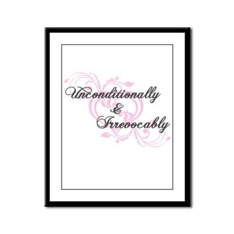 Irrevocably In Love Twilight Framed Panel Print