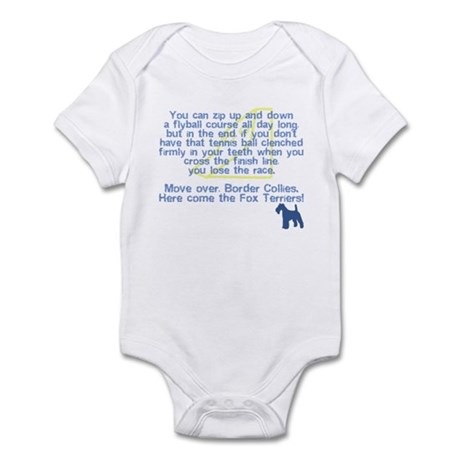 Move Over Wire Fox Flyball Infant Bodysuit