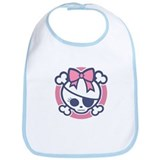 Molly Bow III -blu/pnk Bib