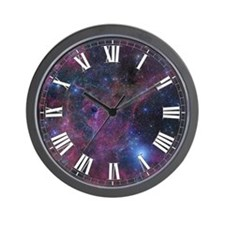 Vela Nebula 1 Wall Clock