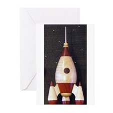 Rocket Greeting Cards (Pk of 10)