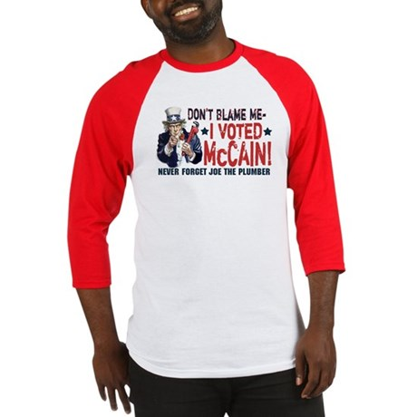 I Voted McCain Baseball Jersey