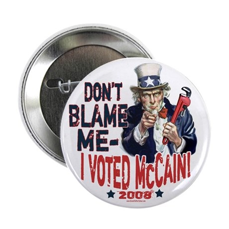 "I Voted McCain 2.25"" Button (10 pack)"