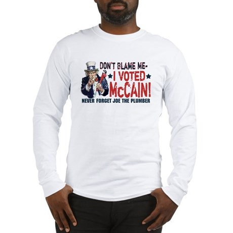 I Voted McCain Long Sleeve T-Shirt