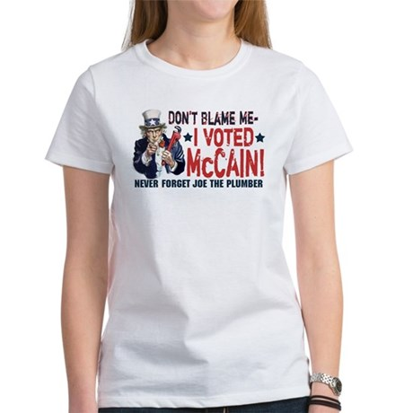 I Voted McCain Women's T-Shirt