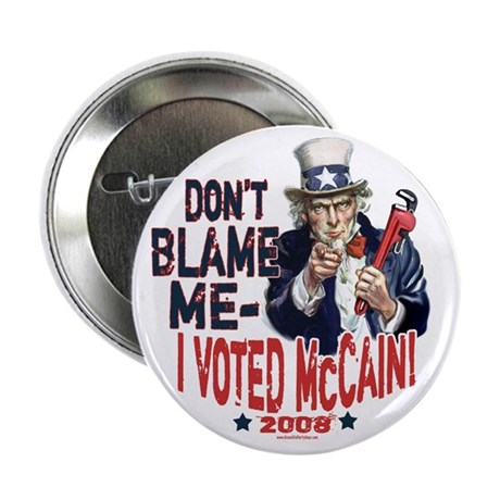 "I Voted McCain 2.25"" Button"