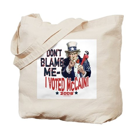 I Voted McCain Tote Bag
