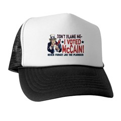 I Voted McCain Trucker Hat