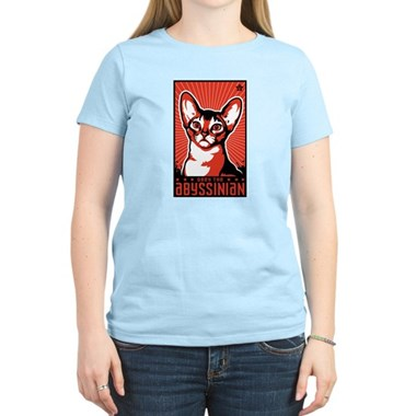 Obey the Abyssinian Cat T-