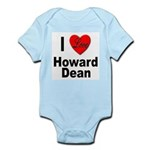 I Love Howard Dean Infant Creeper