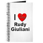 I Love Rudy Giuliani Journal