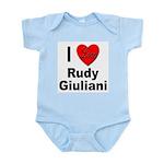 I Love Rudy Giuliani Infant Creeper
