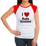 I Love Rudy Giuliani Women's Cap Sleeve T-Shirt