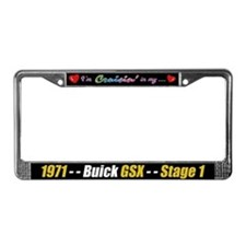 1971 Buick GSX License Plate Frame