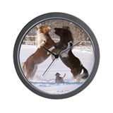 Funny Tucker Wall Clock
