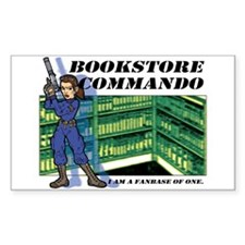 """""""Commando"""" Rectangle Decal"""