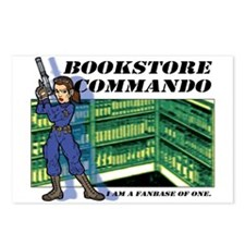 """""""Commando"""" Postcards (Package of 8)"""