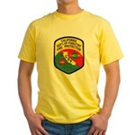 CDF Forestry Fire Yellow T-Shirt