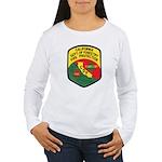 CDF Forestry Fire Women's Long Sleeve T-Shirt