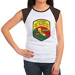 CDF Forestry Fire Women's Cap Sleeve T-Shirt
