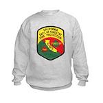 CDF Forestry Fire Kids Sweatshirt