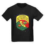 CDF Forestry Fire Kids Dark T-Shirt