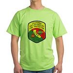 CDF Forestry Fire Green T-Shirt