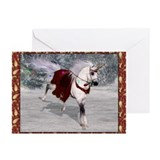 Holiday Unicorn IV Greeting Cards (Pk of 10)